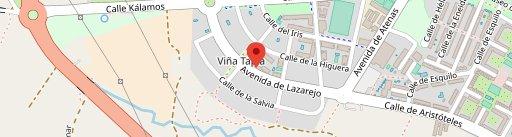 Cafeteria, Bar, Restaurante Déjate Llevar en el mapa
