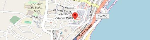 Restaurante D'els Artistes на карте