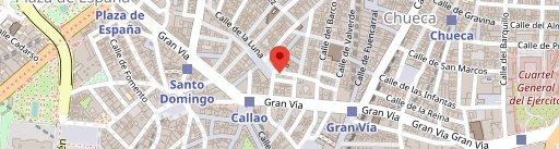 desengaño13 en el mapa