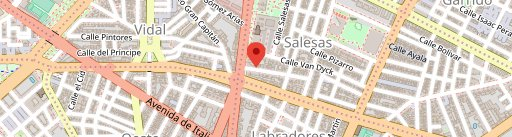 Don Perrito en el mapa