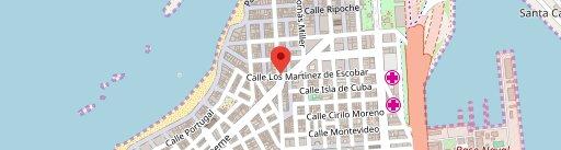Don Quixote en el mapa