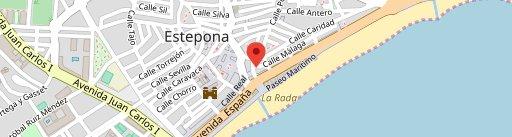 Don Reinaldo en el mapa