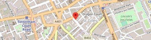 Drury on map