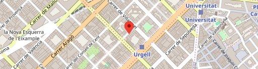 Eixampeling Brunch Café & Bar en el mapa