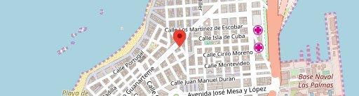 El Almacén on map