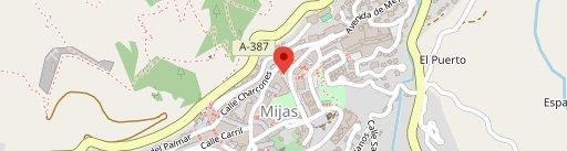 El Balcon de Mijas en el mapa