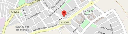 Bule Bar en el mapa