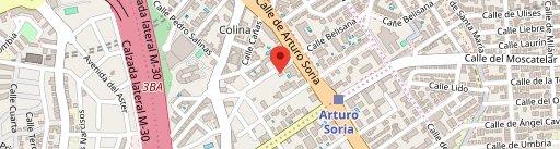 El Bund Restaurante on map