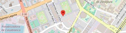 El Descorche en el mapa