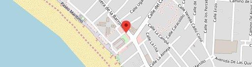 El Fogón de Mariana-La Barrosa en el mapa