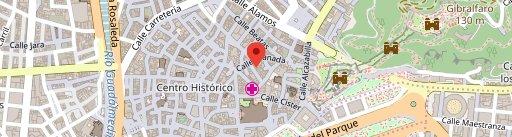 El Gastronauta on map