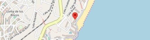 El Gato Lounge en el mapa