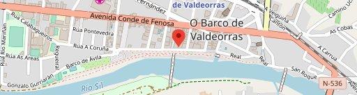 El Manjar en el mapa