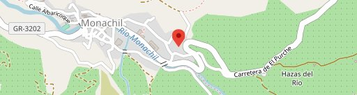 El Mirador de Guejar Sierra en el mapa