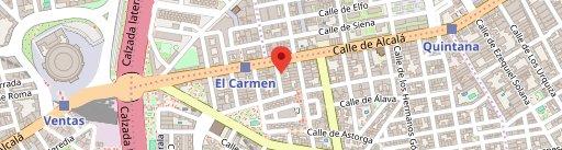 Restaurante El Montero de Cazorla Ventas on map