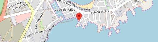 Muro de la Sal en el mapa
