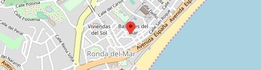 Restaurante El Palangre, Marisqueria Restaurante Estepona en el mapa