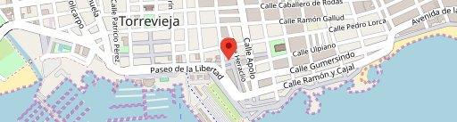 Restaurante El Pescador on map