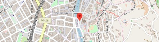 Cafeteria El Pessic en el mapa