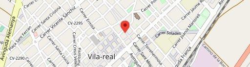 El Raval Gastrobar en el mapa