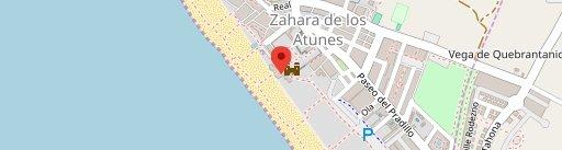 Restaurante El Refugio【 Zahara de los Atunes 】 en el mapa