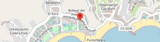 Restaurante-Arrocería El Rincón del Faro en el mapa