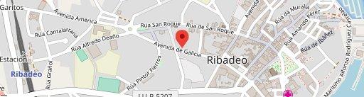 El Rincón del Gordo en el mapa