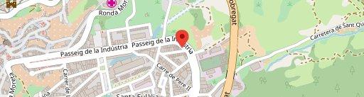 El Rincon Gallego en el mapa