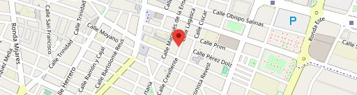 Taberna El Roble en el mapa