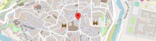 El Rojas en el mapa