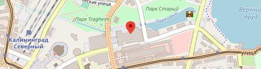 Эпицентр, развлекательный центр en el mapa