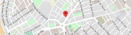 Er Tapeillo en el mapa