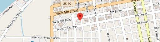 Ernie's on map