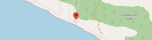 Rte. Es Codol Foradat en el mapa