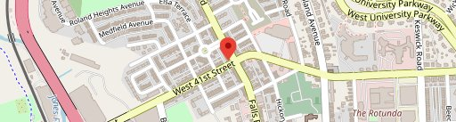 Falls Road Carry Out on map