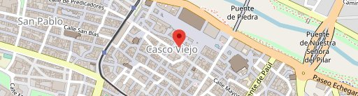 Hamburguesería Fray Juan Casco Antiguo en el mapa