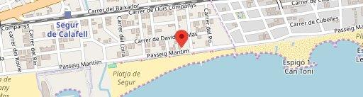 Front Beach en el mapa