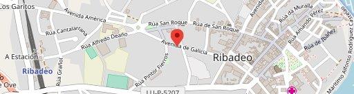 Galipizza en el mapa