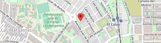 Gastrotaberna Cachitos en el mapa