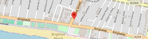 Ginger Pig on map