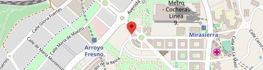 Ginos Mirasierra en el mapa