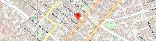 Ресторан Бахрома на карте