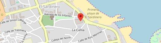 Gran Casino Sardinero en el mapa