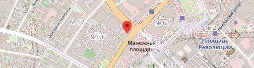 Dr. Zhivago on map