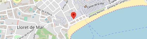 Grand Cafe Latino en el mapa