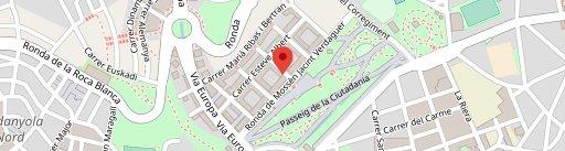 Hapo Mataró en el mapa
