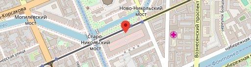 Хард Рок Кафе на карте