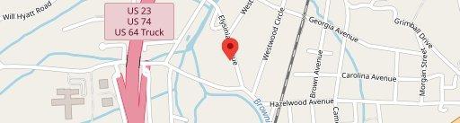 Haywood Smokehouse on map