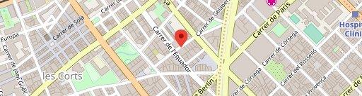 Cocina Hermanos Torres en el mapa