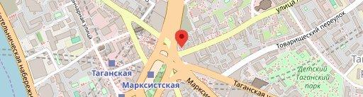 Кальян-бар Hookah Smokers Lounge на карте